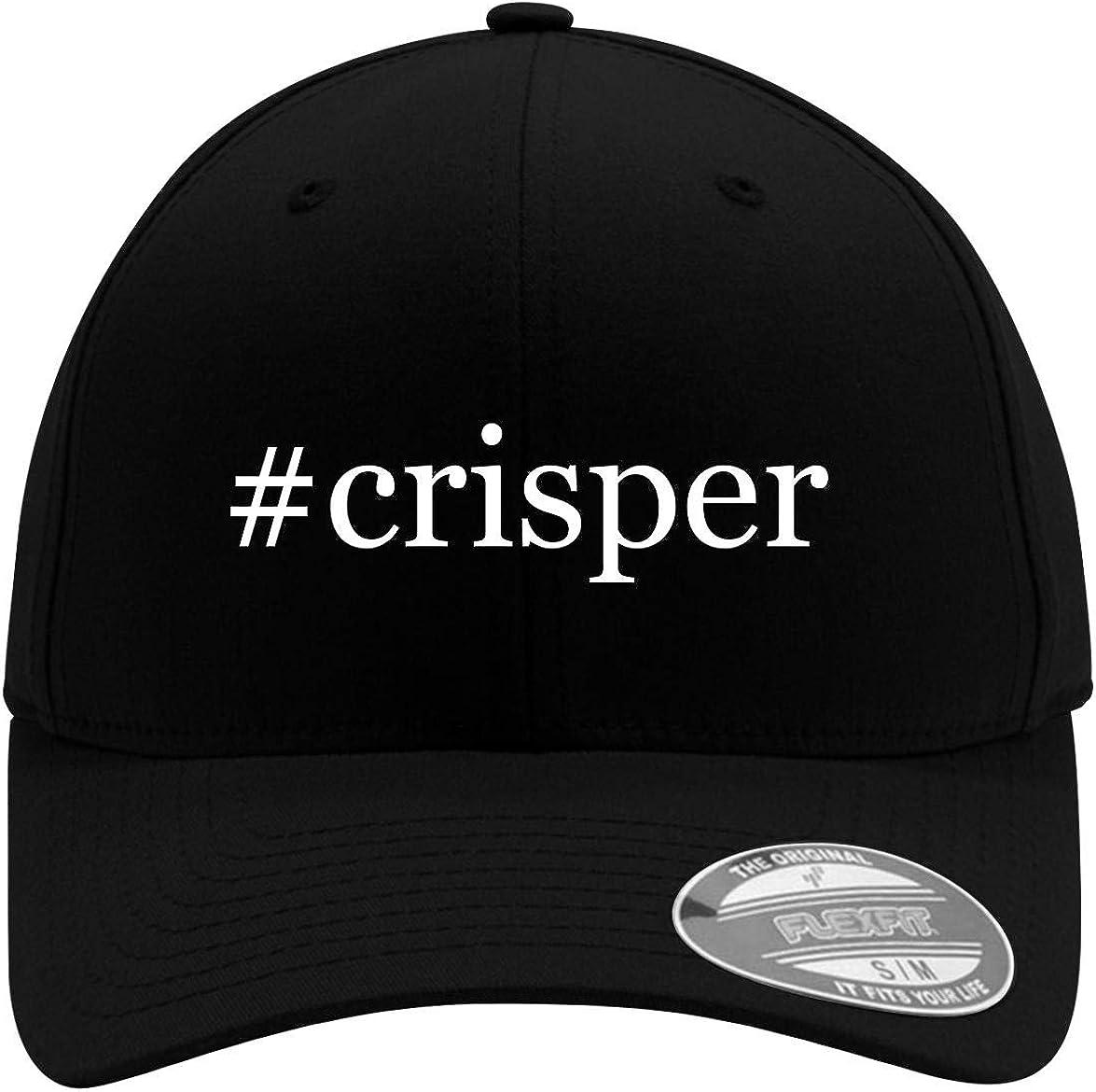 #crisper - Adult Men's Hashtag Flexfit Baseball Hat Cap