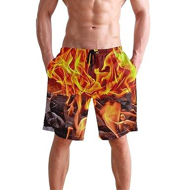 1711c1b74395c Shorts B-xww Mens Summer Surf Swim Trunks Beach Shorts Pants Quick Dry  Pockets