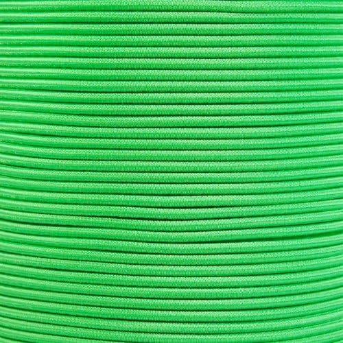 3//8 Inch x 10 Feet, Electric Blue West Coast Paracord Bungee Elastic Nylon Shock Cord