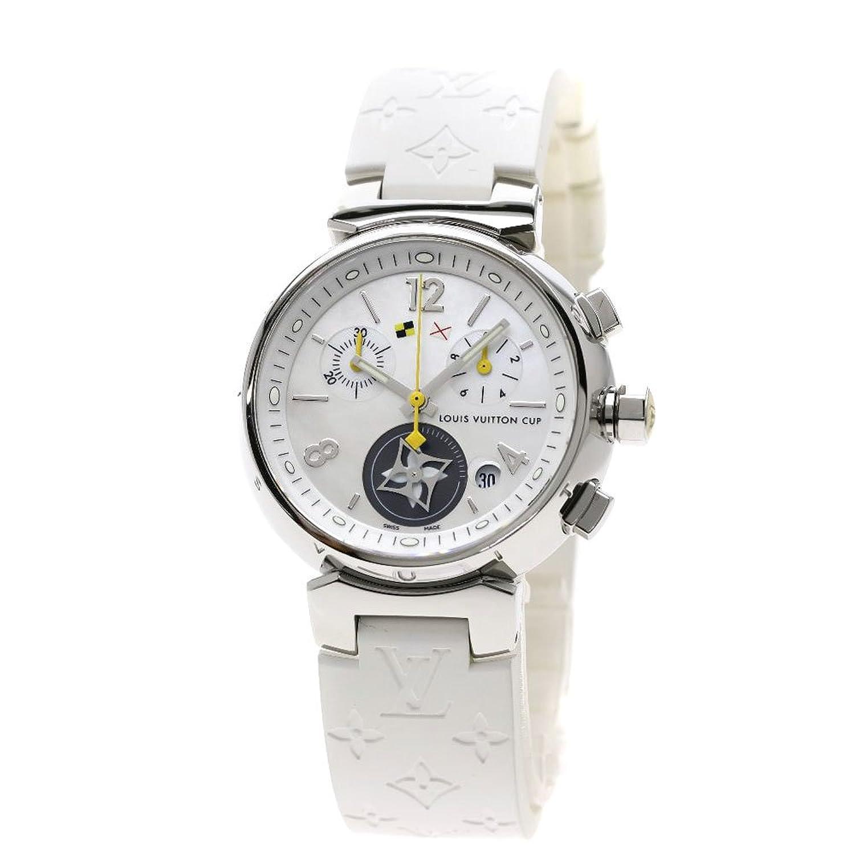 [ルイヴィトン]タンブール ラブリーカップ 腕時計 ステンレススチール/ラバー レディース (中古) B07F61GGBR