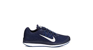 new style b974f 9a9e3 ... amazon nike mens zoom winflo 5 gym blue white obsidian running shoe 11  men us 2a41e ...