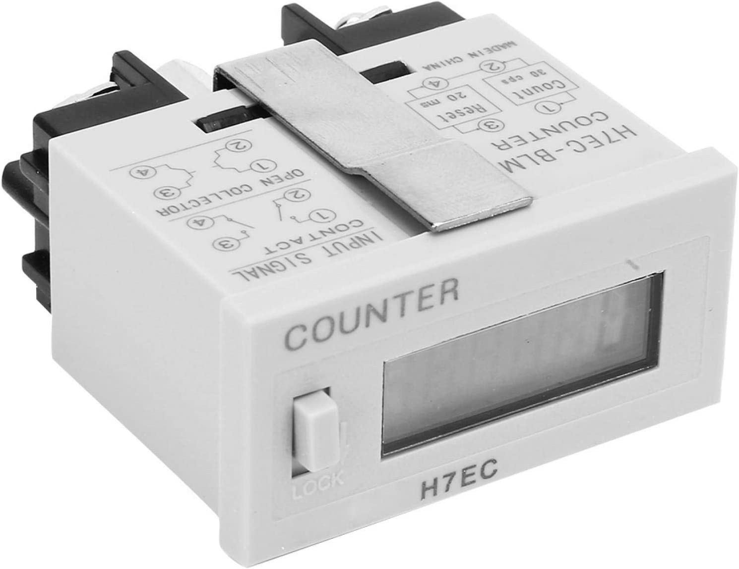 Jeanoko Digital Totalizer 6-Digit Counter for Electrical