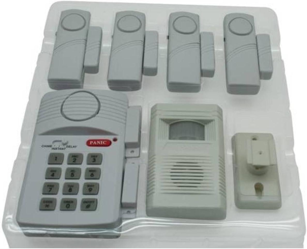 6/pi/èces DKB Radio Alarme Alarme avec fen/être maison/ /Porte Alarme D/étecteur de mouvement