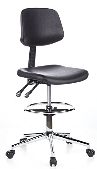 hjh OFFICE 665130 TOP WORK 24 Silla de trabajo y oficina, negro: Amazon.es: Hogar