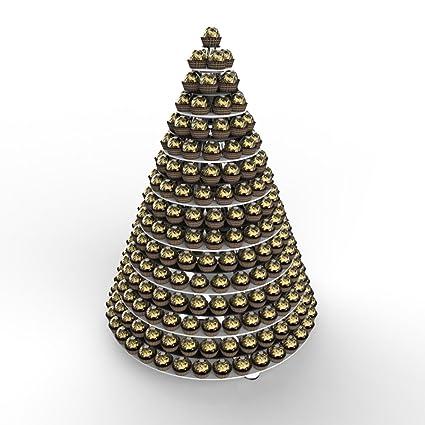 16 Nivel Profesional de Ferrero Rocher – Expositor de malvaviscos en forma de pirámide de torre