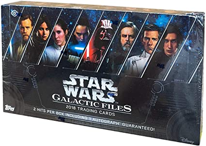 Star Wars Galactic Files 2018 Complete 200 Card Base Set