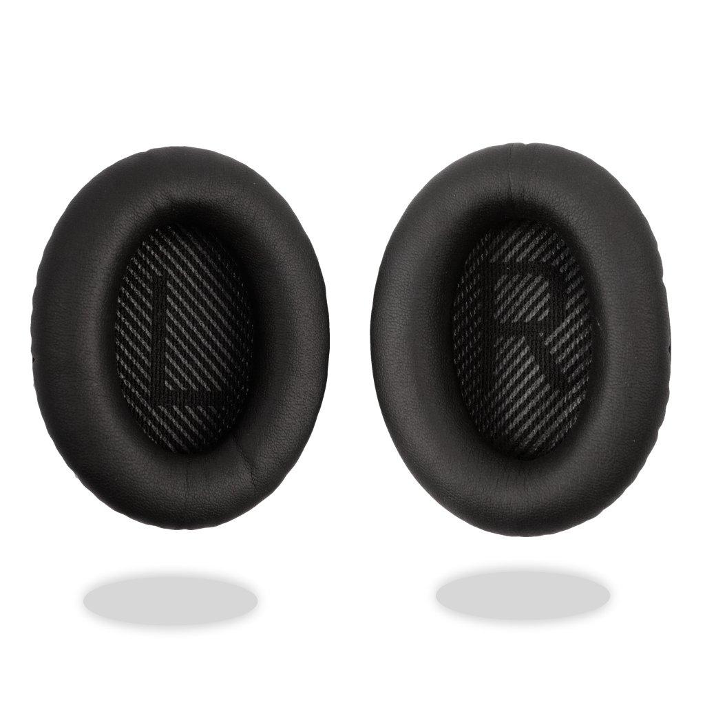 Reytid kit cuscino cuscinetti auricolari di ricambio per Bose QuietComfort 35/QC35 cuffie –  nero Bose-20