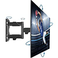 Full Motion TV Wall Mount for Most 32-55 Inches Computer Monitors and TVs,Adjustable Tilting, Rotating.Weight up to…