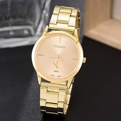 TCEPFS Relojes Mujer Diseño Marca de Moda Relojes de Mujer Rosa ...