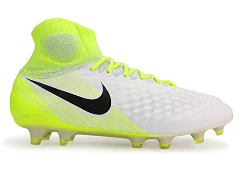 premium selection a408d 9ca80 Nike Magista Obra II FG, Zapatillas de Fútbol para Hombre, Blanco (White),  43 EU  Amazon.es  Zapatos y complementos