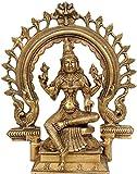 Goddess Bhuvaneshvari - Brass Statue
