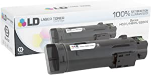 LD Compatible Toner Cartridge Replacement for Dell 593-BBOW N7DWF (Black)