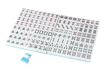 Mini Mahjong Puzzle Mahjong Juegos Chino Tradicional Mahjong Azul