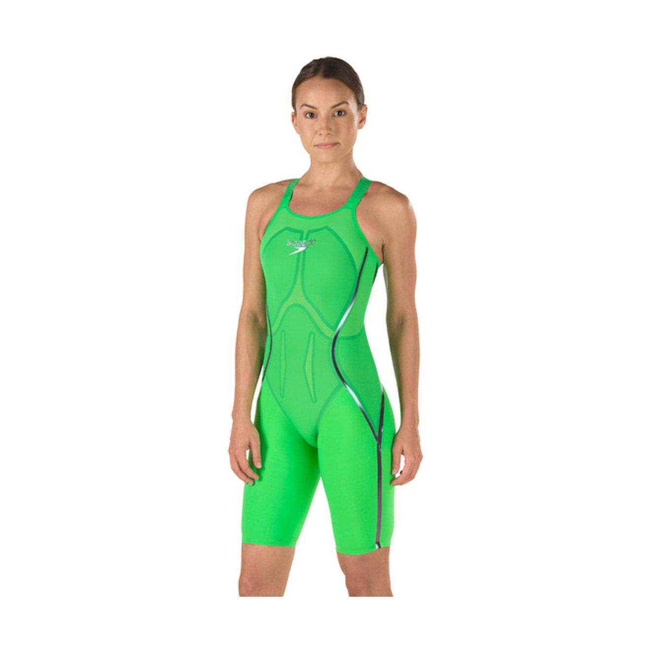 Swmsuit Speedo 7190601 Womens LZR Racr X Clsd BCK Kneeskn 1pc