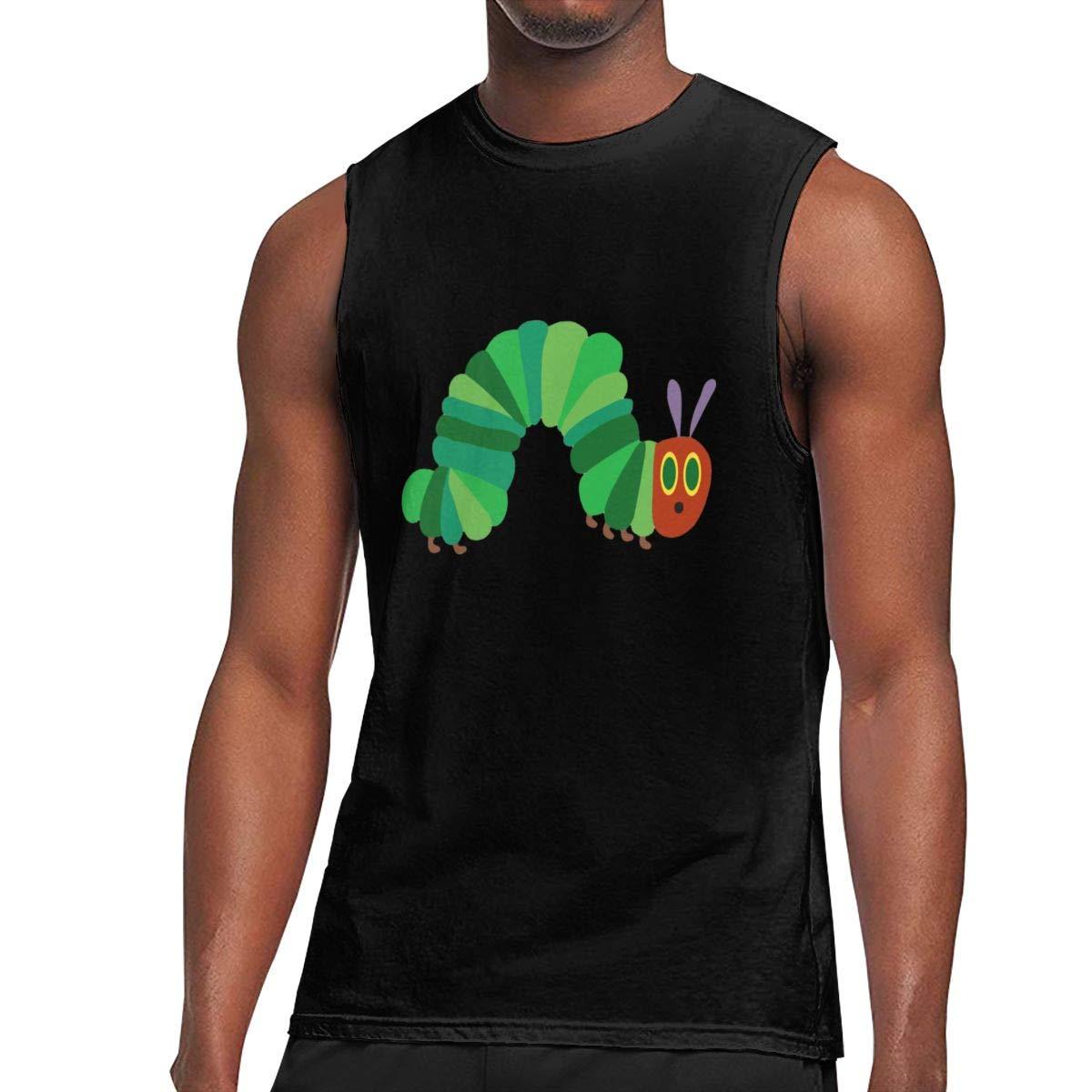 Seuriamin The Very Hungry Caterpillar S Casual Travel Sleeveless Muscle Short Sleeve Shirt