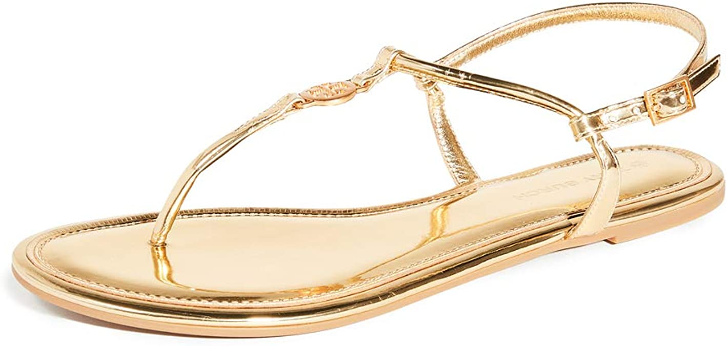 Tory Burch Gold Shoes