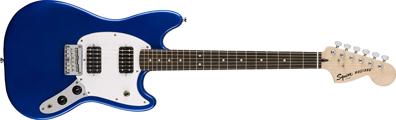 Squier Bullet Mustang HH - Imperial Azul