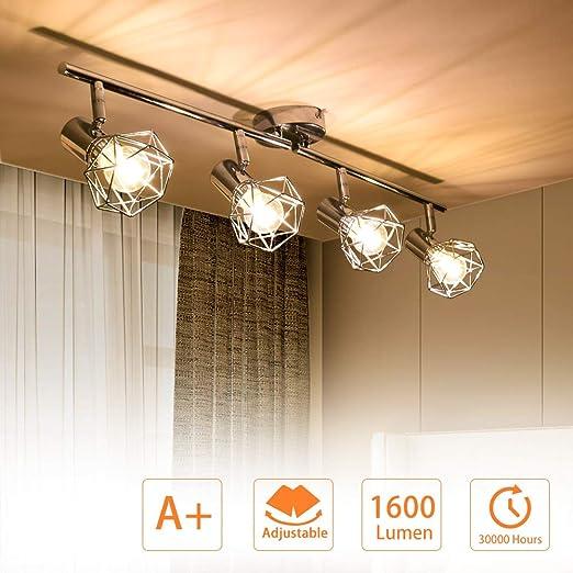 LED Design Deckenlampe Wohn Zimmer Lampen Flur Küchen Decken Leuchten drehbar