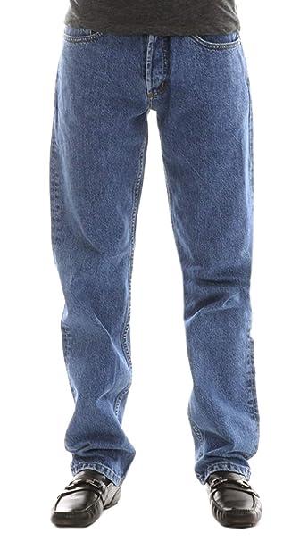 Polo Ralph Lauren Classic Jeans Mi de Azul 503230 Azul W28: Amazon ...
