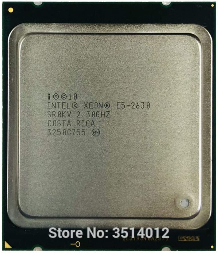 Intel Xeon E5-2630 E5 2630 2.3 GHz Six-Core Twelve-Thread CPU Processor 15M 95W LGA 2011