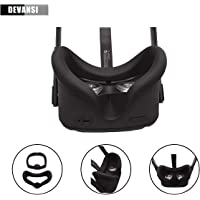VR Face Silicone Cover Mask & Face Pad for Oculus Quest Face Cushion Cover Sweatproof Lightproof