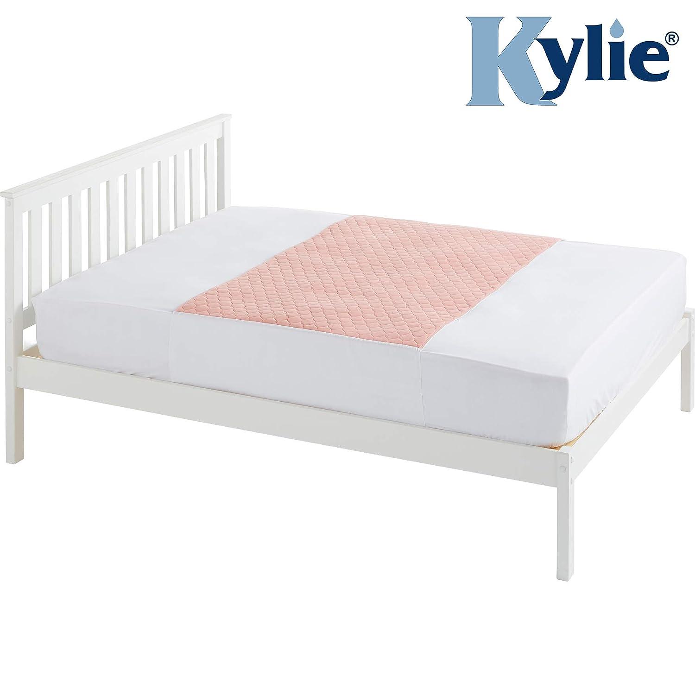 absorbentes impermeables solapas para cami/ón de colch/ón en cada lado 50 x 74 cm lavables 50 cm Almohadillas de cama de primera calidad para ni/ños de 1 litro para incontinencia Kylie