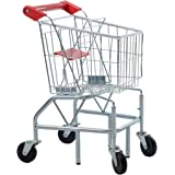 GOOD LIFE Childs Kids toy Shopping Cart with Sturdy Metal Frame Toddler Realistic Play Shopping Cart Grocery Mini Size TOY027