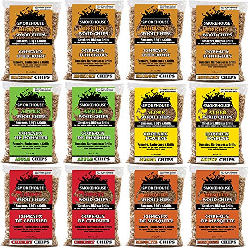(Smokehouse Products Assorted Flavor Chips, 12-Pack)