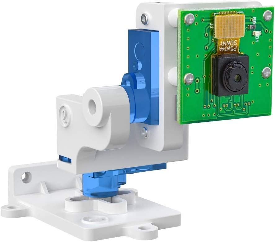 Arducam Pan Tilt Camera for Raspberry Pi, 2 DOF Platform with 5MP 1080P Camera Board with PTZ Control Board