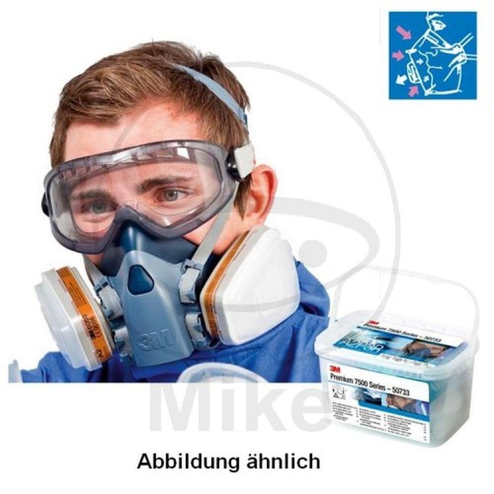 3 M Premium lackier Ensemble de 2 masques 7500 A2/P3 taille L 50734 3M