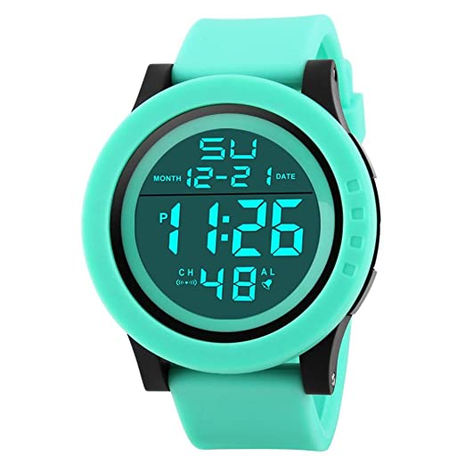 Ikevan HONHX Digital Sports Watch--Fashion Mens LED Waterproof Digital Quartz Military Luxury Sport