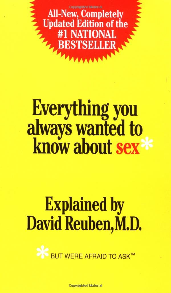Download Everything You Always Wanted to Know About Sex: But Were Afraid to Ask pdf