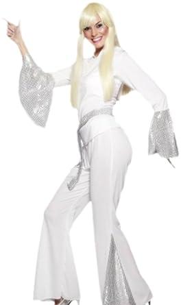 erdbeerloft - Mujer Disco Lady Dancing Outfit Disfraz, S de ...