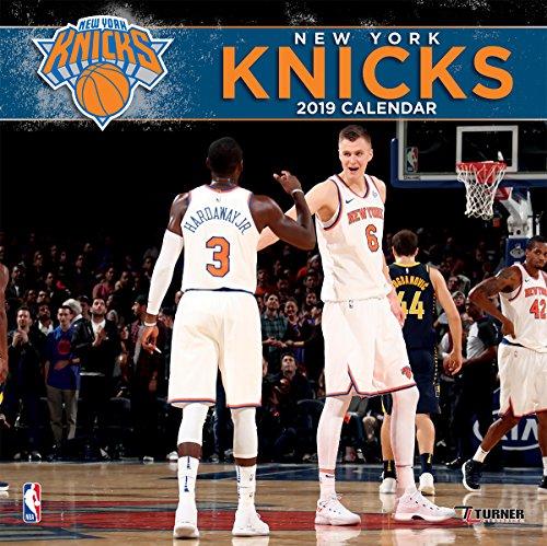 Turner 1 Sport New York Knicks 2019 12X12 Team Wall Calendar Office Wall Calendar (19998011888)
