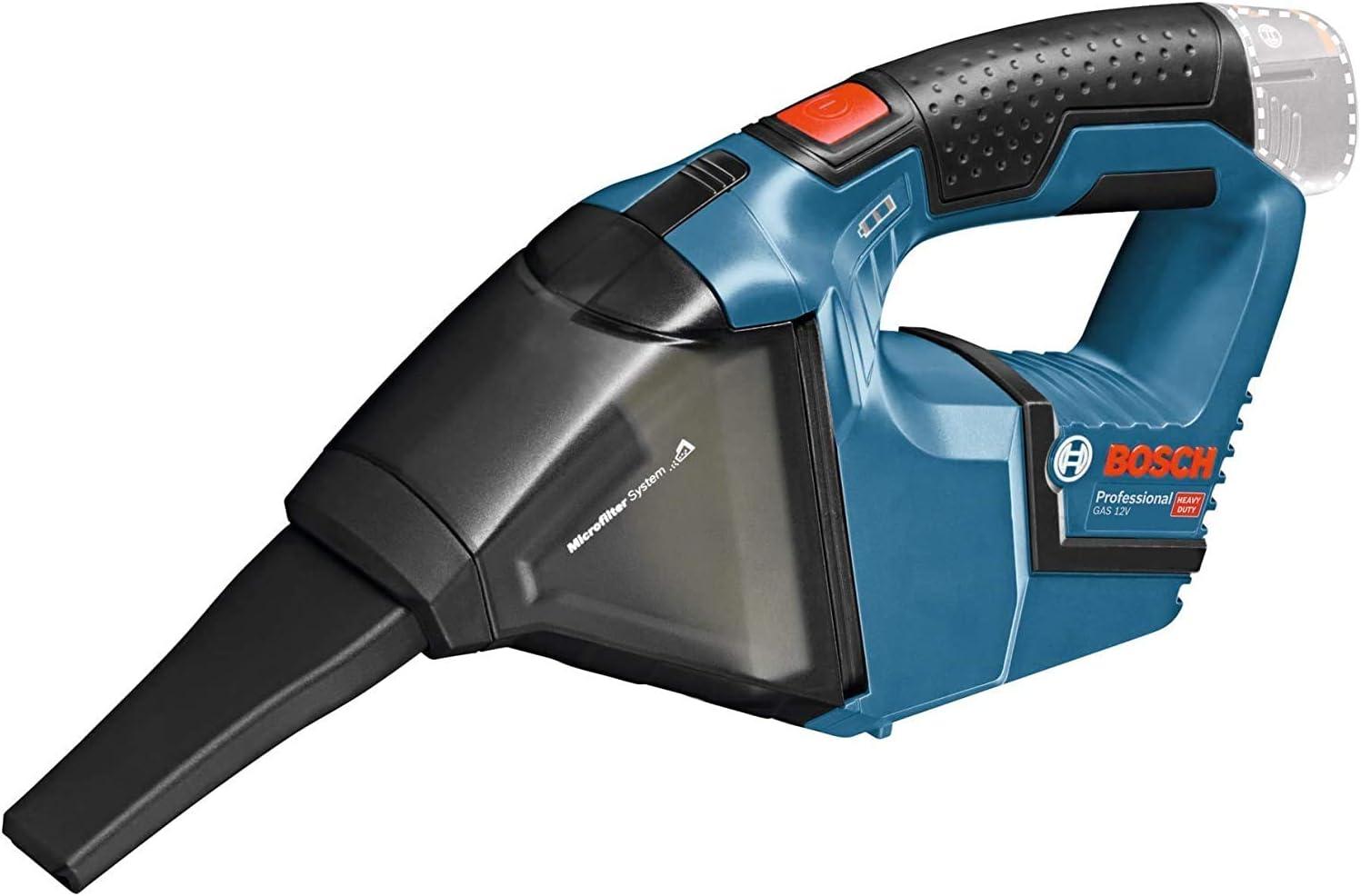 Bosch GAS - Aspirador con batería de 12 V + L-Boxx + 1 batería de 6,0 Ah + 1 cargador: Amazon.es: Bricolaje y herramientas