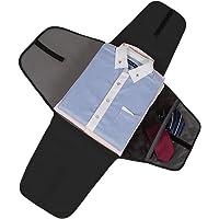 BAGSMART Garment Bag Anti-wrinkle Travel Packing Folder and Luggage Accessory, Black