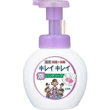 Amazon | キレイキレイ 薬用 泡ハンドソープ フローラルソープの香り ...
