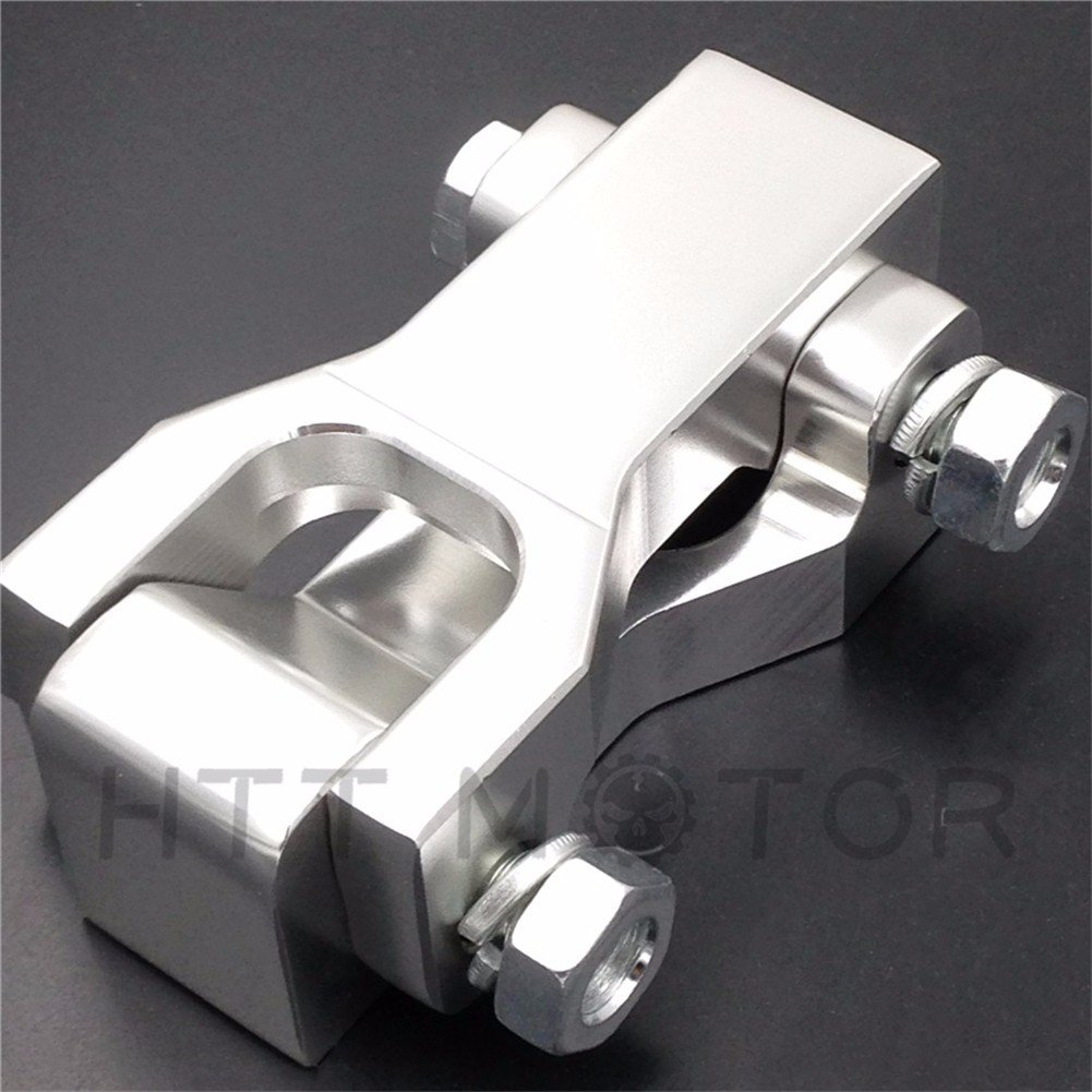 Motorcycle Front Lowering Kits For Honda Trx 400Ex Silver Cnc Alloy Aluminum ... SMT-MOTO