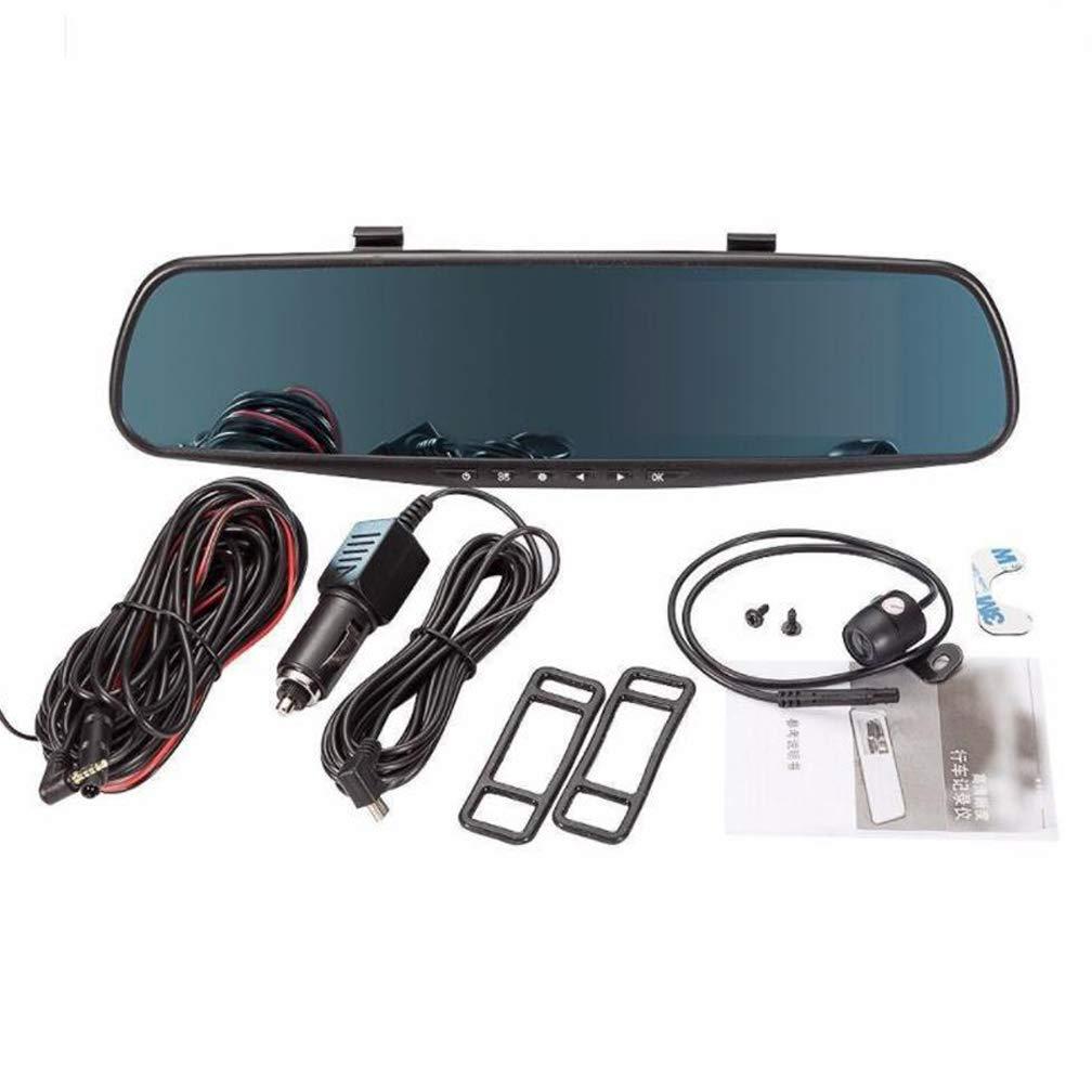 1080P HD Car Dash Kamera, Dual Cam Fahrzeugvorderseite DVR-Objektiv, Bewegungserkennung, Bewegungserkennung