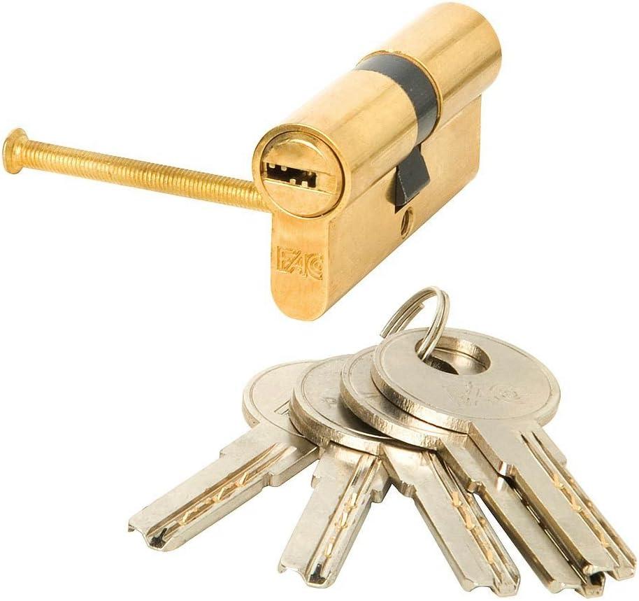 FAC 3014210 Cilindro Seguridad 71-p 35x35 Latondao 15,0 mm
