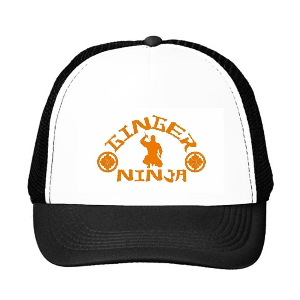 The Ginger Ninja Trucker Hat - Retro Vintage Style Trucker ...