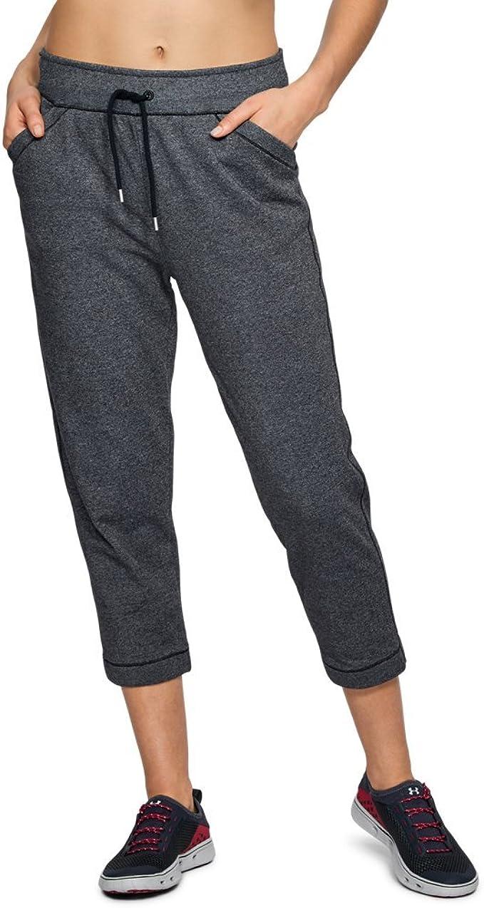 Under Armour Womens Threadborne Fleece Crop Pants