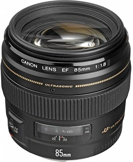 Canon EF 85mm f/1.8 USM - Objetivo para Canon (Distancia Focal ...