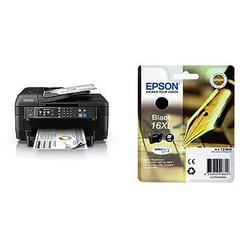 Epson WorkForce WF-2760DWF - Impresora multifunción 4 en 1 (WiFi ...