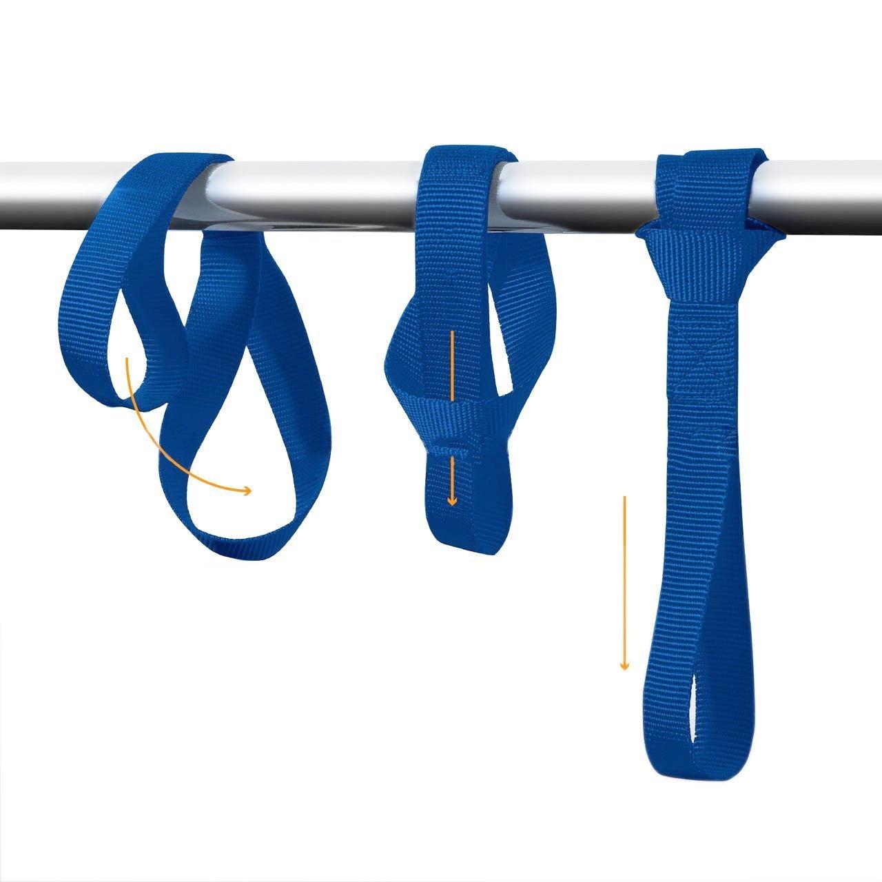 "PERTTY 6 Pack Soft Loops Tie Down Straps Heavy Duty Soft Loops Tie Down Extension Straps for ATV UTV Motorcycle Dirt Bike Blue 1/""x12/"" T/&HI-B07C7G641Q"