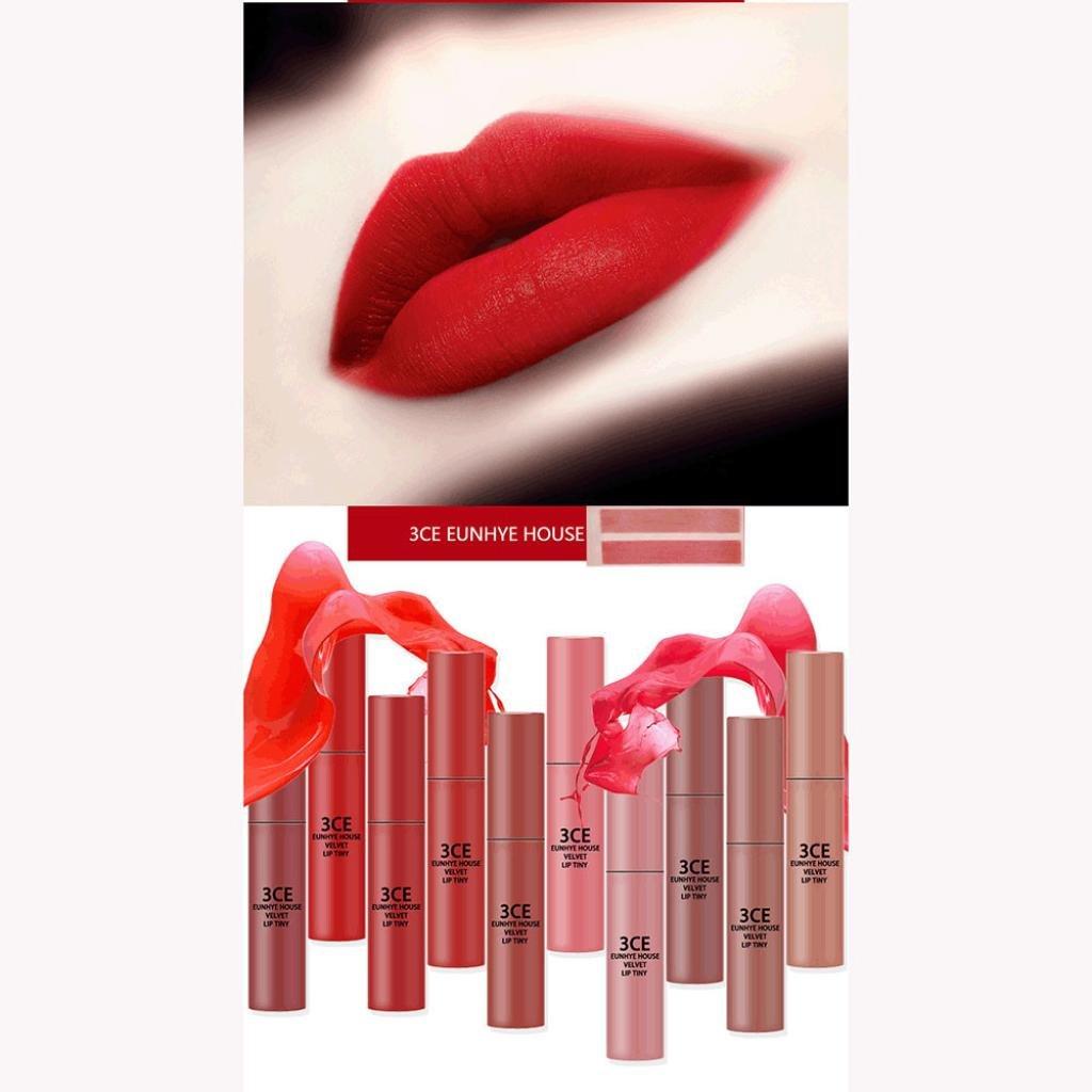 Hunputa Lipstick,Women Professional Colour Trend Lipstick - Color Trend/ColorTrend Kiss n Go, Lipstix (10PCS)
