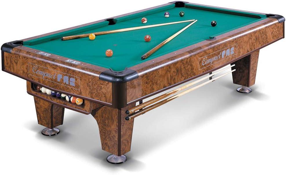 Desconocido Mesa de billar carambola Pool Americana Original Fas ...
