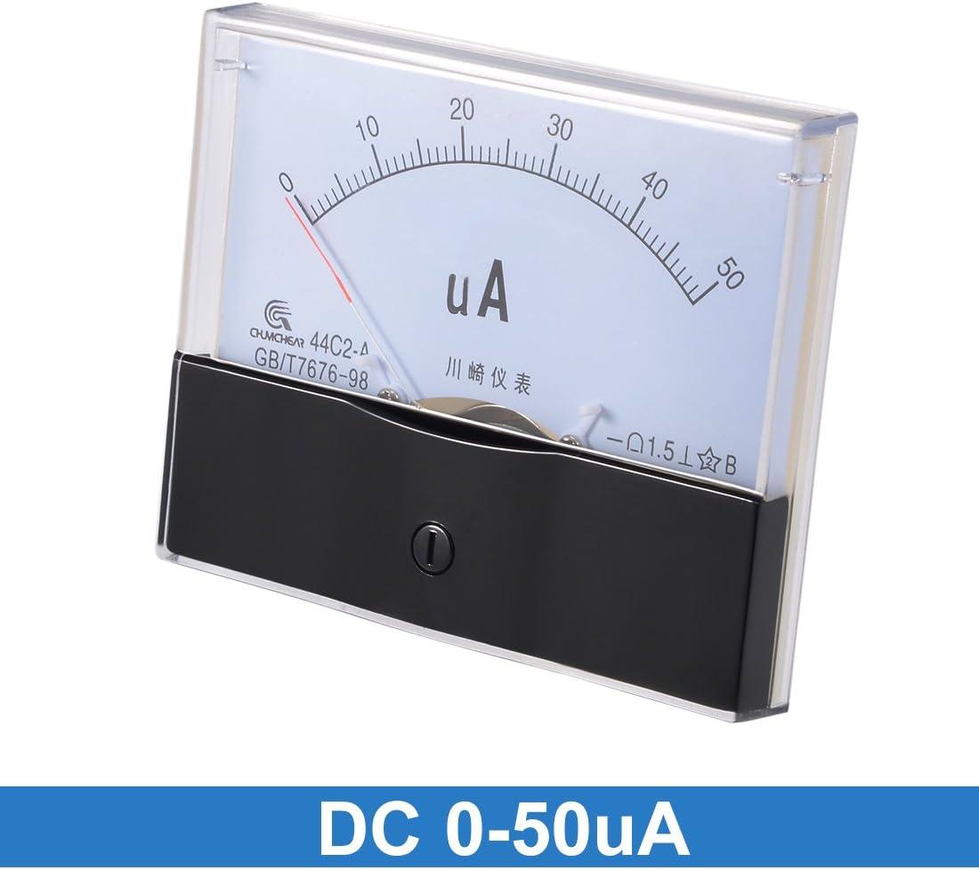 500uA 44C2 de gamme Panneau Manom/ètre analogique pour amp/èrem/ètre DC 0