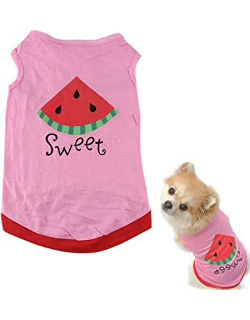 Dog Clothing & Shoes Kind-Hearted Big Bows Pet Dog Clothes For A Dog Pink Pet Lady Girl Cute Shirt Breathable Summer Outfit For Cat Small Animal Xs Xl