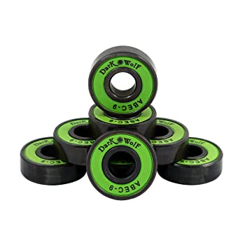 Dark Wolf 1 Set of Skateboard Bearings